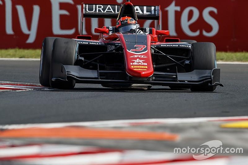 Mazepin domina Gara 1 all'Hungaroring, Pulcini beffa Hubert ed è secondo