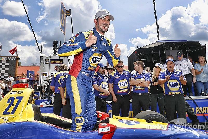 IndyCar Mid-Ohio 2018: Richtige Strategie bringt Rossi den Sieg