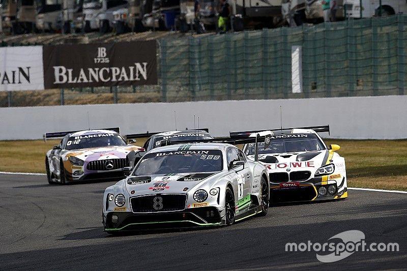El Bentley de Andy Soucek, mejor español en Spa tras 8 horas