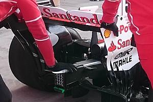 Ferrari: modificato il diffusore posteriore visto nei test in Ungheria