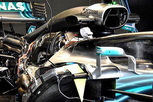 Mercedes: il motore 2.1 di Hamilton è stato salvato, quello di Bottas forse