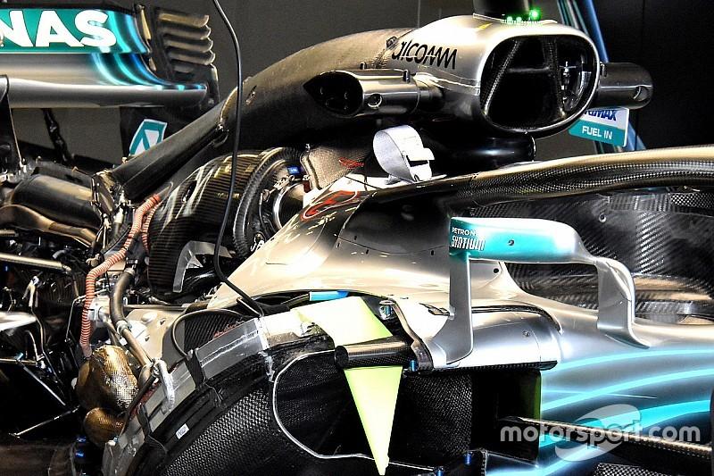 Mercedes: dopo l'allarme di Toto Wolff, trovata una dozzina di cavalli in più sul motore