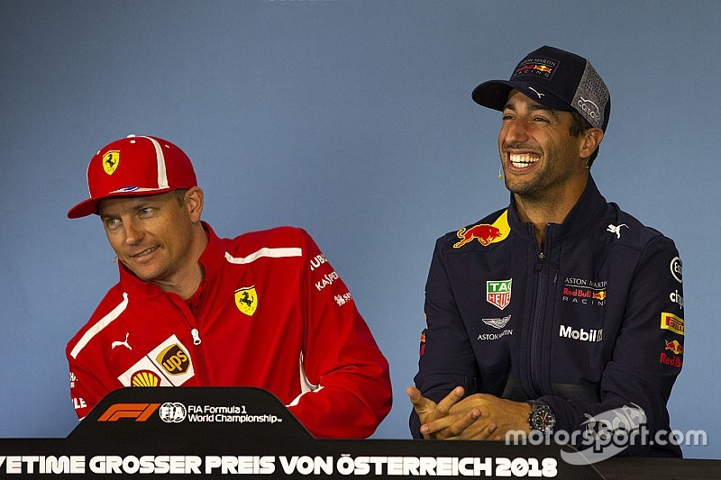 A Red Bull elgondolkodott Räikkönen szerződtetésén, de Ricciardo lett a befutó