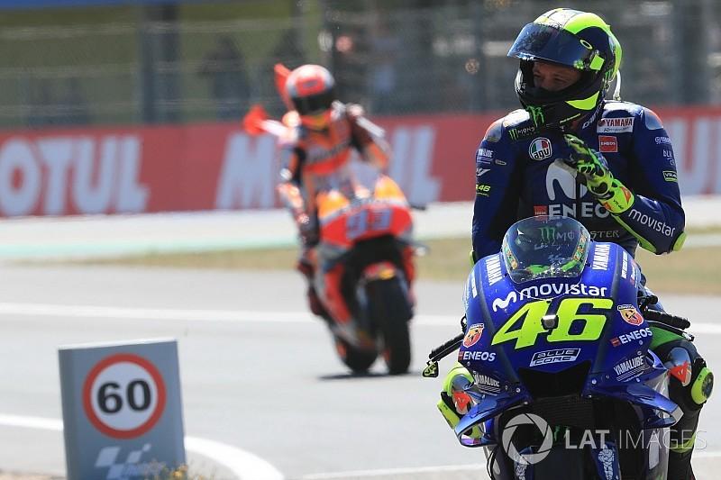 """Rossi : """"Se concentrer sur chaque course l'une après l'autre"""""""