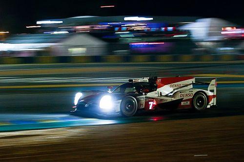 Toyota no suelta el mando después de ocho horas en Le Mans
