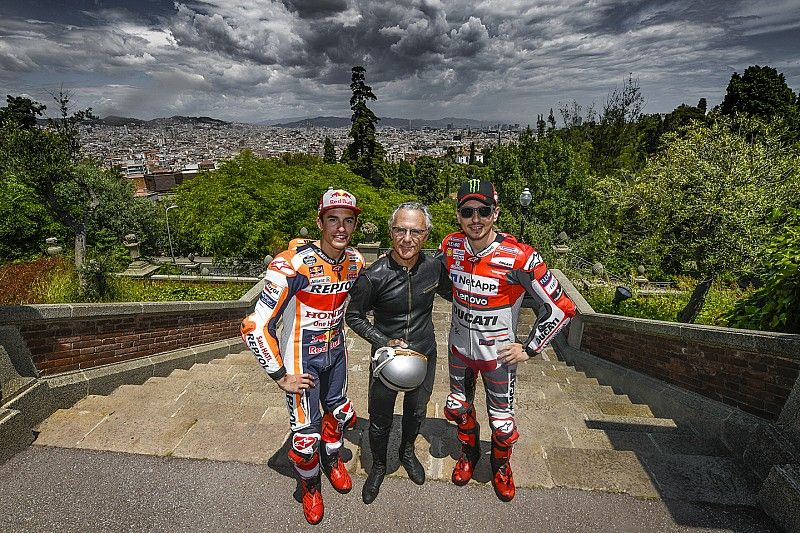 El primer y los últimos ganadores, juntos en Montjuic