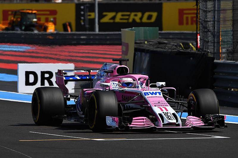 La falla en motor de Pérez es la preocupación principal de Mercedes