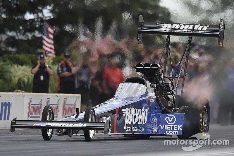Alexander takes shock NHRA Top Fuel win