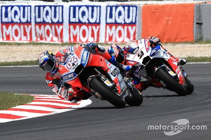 """Ducati : """"L'objectif de Petrucci n'est pas de battre Dovizioso"""""""