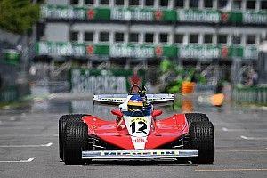 """Así fue la """"emocionante"""" exhibición de Jacques Villeneuve con el Ferrari de su padre"""