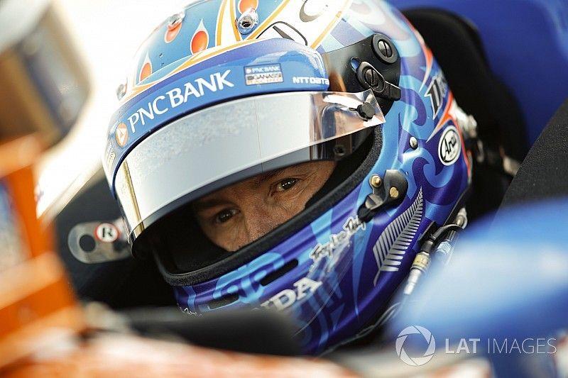 Dixon marca 224mph y lidera sesión de entrenamiento