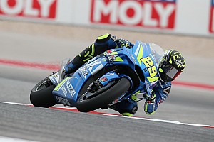 MotoGP Practice report Austin MotoGP: Iannone tops FP2 as Marquez crashes