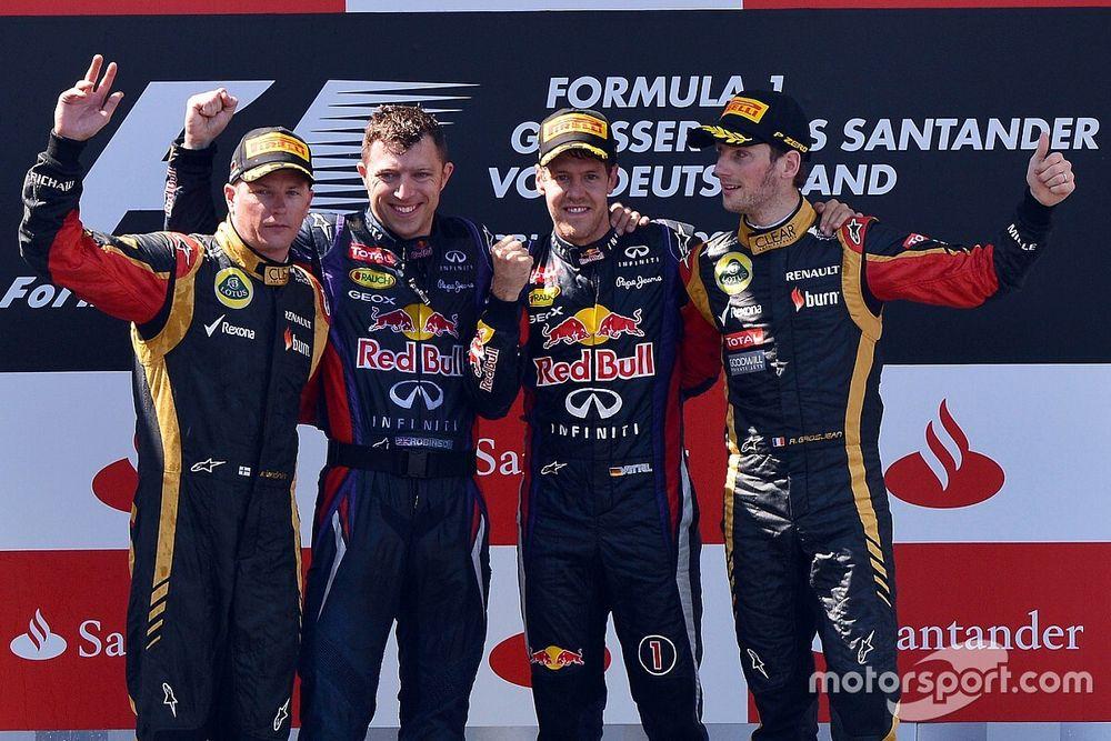 Overzicht van alle Grand Prix-winnaars op de Nürburgring