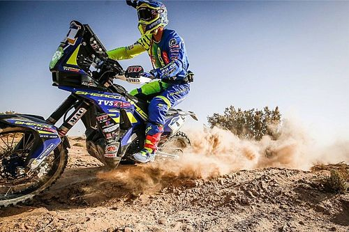Merzouga Rally: Sherco TVS inside top 10 after Stage 2, Santosh 21st