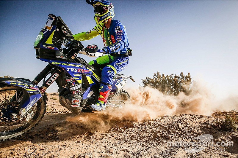 Merzouga Rally: Sherco TVS leads Hero after Stage 1