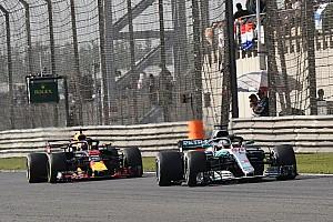 汉密尔顿承认梅赛德斯不是当前最快的车队