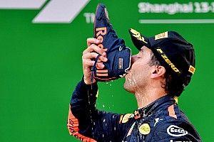 Формула 1 зарегистрировала торговую марку Shoey