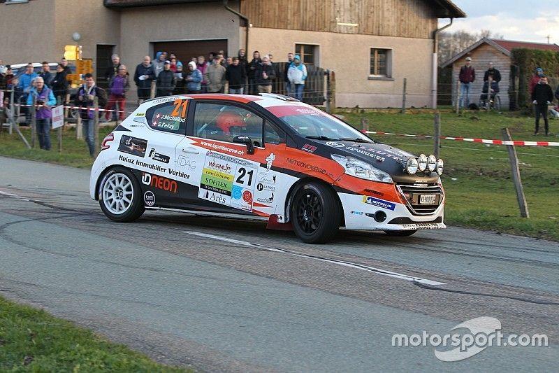 Campionato Rally Svizzera Junior, Michellod e Fellay danno spettacolo