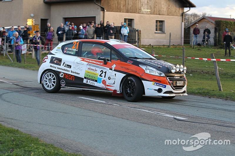 Schweizer Junioren Rallyemeisterschaft: Michellod und Fellay sorgen für Aufsehen