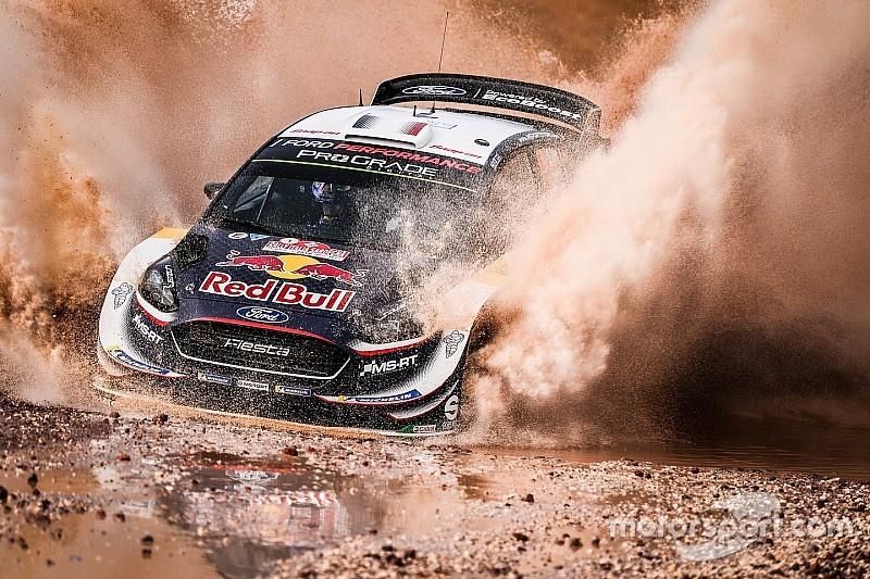 WRC第7戦イタリア金曜:オジェが首位発進、上位陣にトラブル相次ぐ