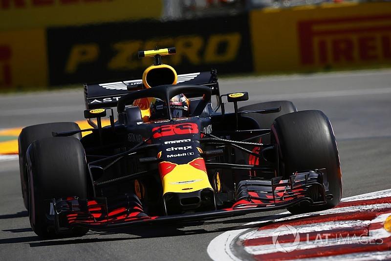 カナダGP:FP1はフェルスタッペンがトップ。僅差でハミルトンが続く
