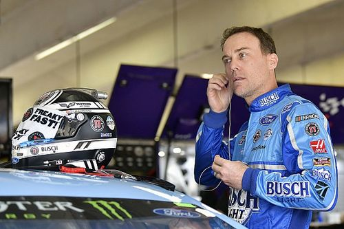 Kevin Harvick fastest in Kansas Cup practice delayed by weepers