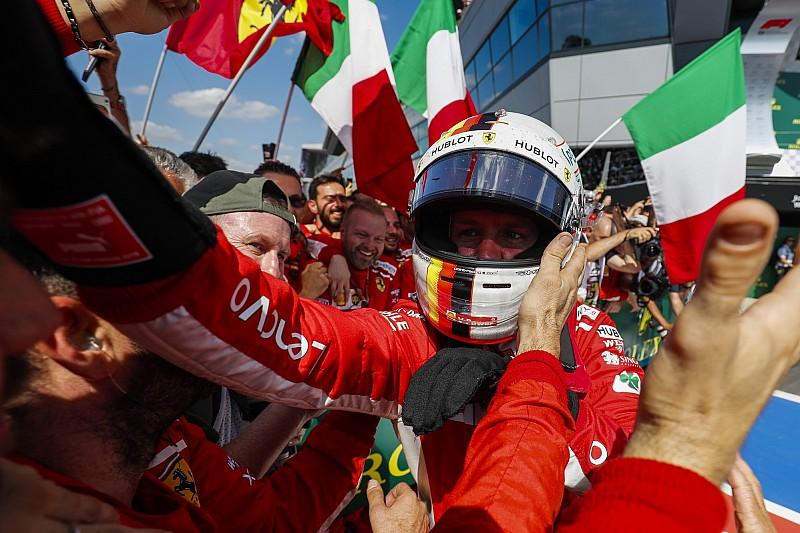 Ferrari grote winnaar triple-header, Verstappen scoort evenveel punten als Hamilton