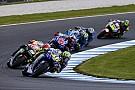 MotoGP Valentino Rossi no está contento con la agresividad de algunos pilotos