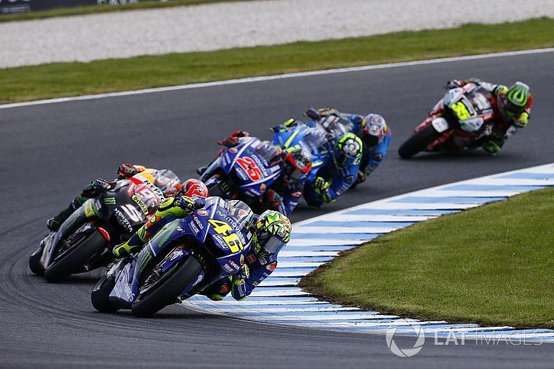"""Avustralya yarışı Rossi'nin """"eski tarzını"""" sorgulamasına sebep olmuş"""