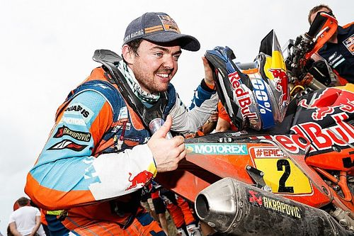 "Walkner: ""Luck was on my side"" in Dakar triumph"