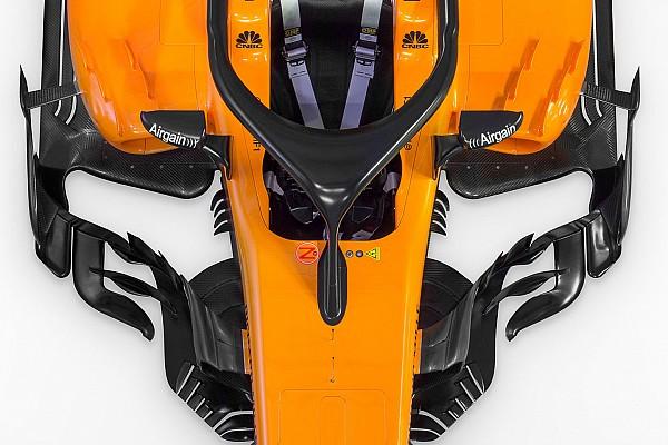 Formula 1 Special feature Slide view: McLaren's 2018 F1 car v 2017 version