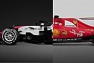 Comparativa: el Ferrari SF70H vs. el Haas VF-18