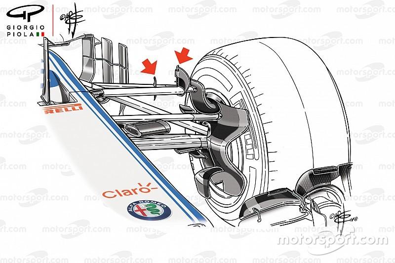 Még a felfüggesztésre is szárnyakat aggatott a Sauber - technikai elemzés