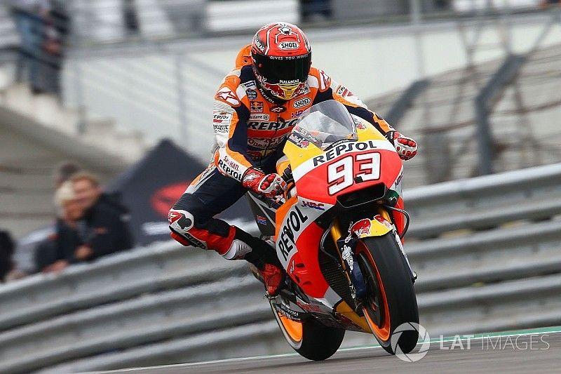 MotoGP Jerman: Marquez puncaki FP3, Rossi keenam