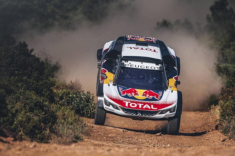 Видео: Peugeot тестирует новую машину для «Дакара»