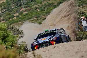 WRC Rapport d'étape ES5 à 9 - Paddon toujours leader d'un groupe de tête très serré