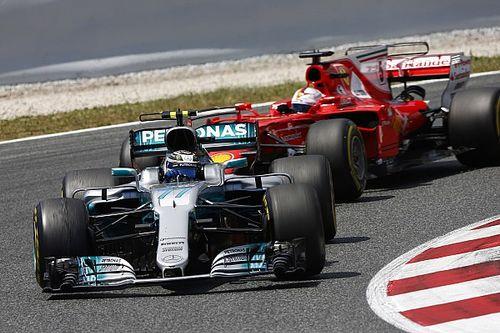 Mercedes: a Bottas in Spagna c'è stata una strana rottura del turbo