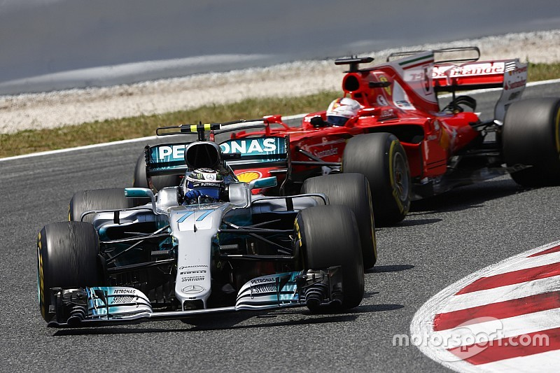 Bottas: It was my job to hold Vettel up