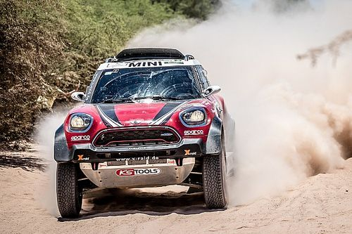 "Peugeot faltering my ""only chance"" for Dakar win - Hirvonen"