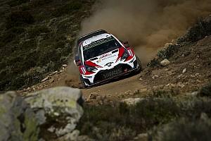 WRC Новость Новобранец Toyota проедет все оставшиеся этапы WRC