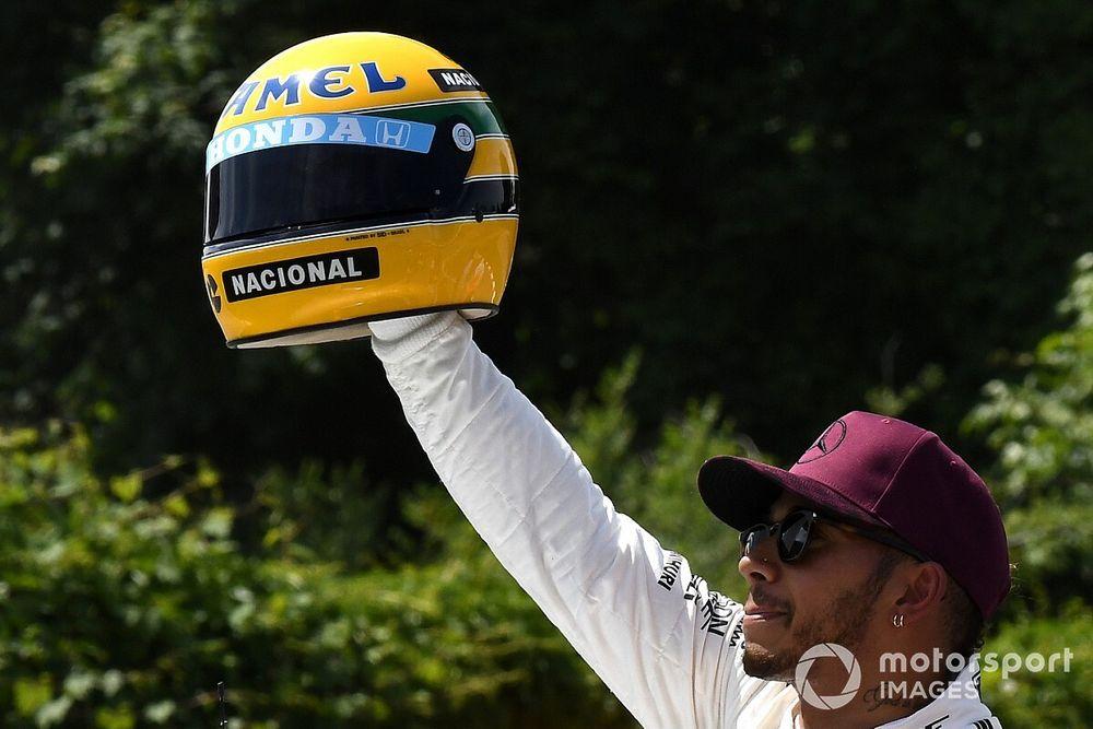 """Hamilton: """"Senna es el piloto más emblemático de la F1"""""""