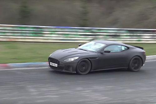 Video: Aston Martin DB11 S giert het uit op Nordschleife