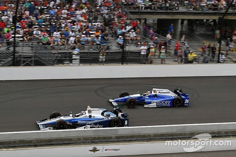 Chilton se quedó a seis vueltas de ganar Indy 500