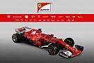 Formula 1 Ferrari presents its 2017 F1 car, the SF70H