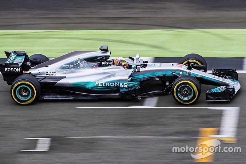 【F1】王者メルセデス、4年連続ダブルタイトル狙う新車W08を発表