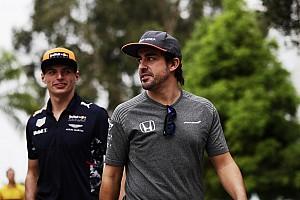 """Alonso : Le meilleur actuellement, """"c'est Max Verstappen"""""""