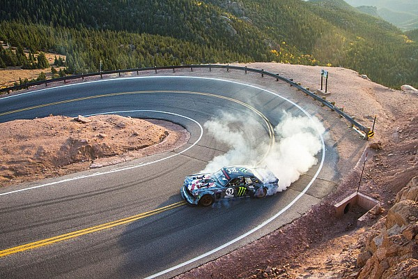 Hillclimb Breaking news Ken Block takes latest Gymkhana video to Pikes Peak