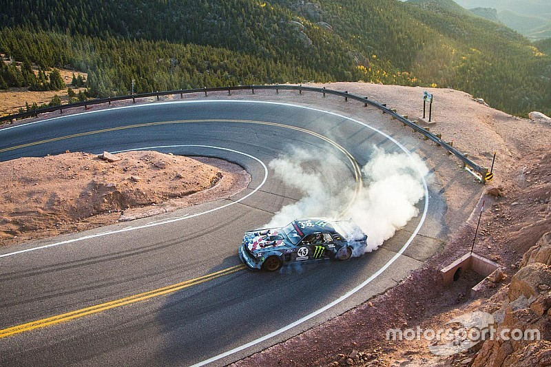 Ken Block takes latest Gymkhana video to Pikes Peak