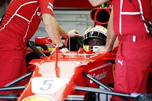 Vettel to start Malaysian GP last after engine trouble
