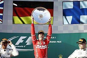 F1-Auftakt 2017 in Melbourne: Sebastian Vettel siegt für Ferrari